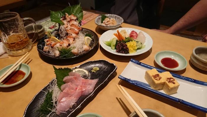 30日の 日に 打ち合わせの為 草加駅前にて 食事 (3)